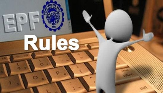 EPF Rules on Withdrawal